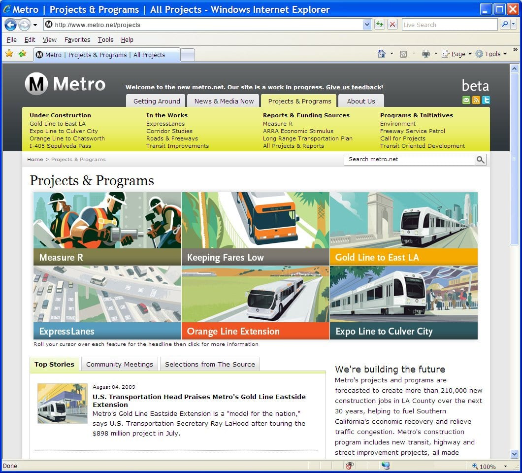 Metro_Projects