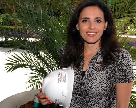 Caltrans engineer Dania Almordaah