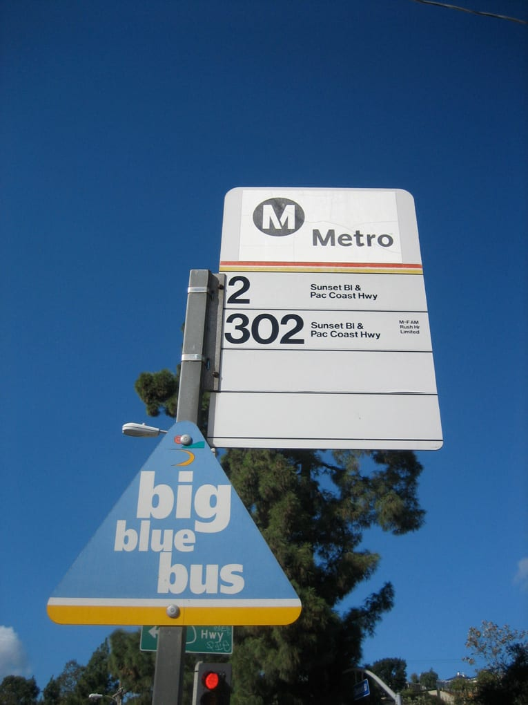 Temescal Bus Signs