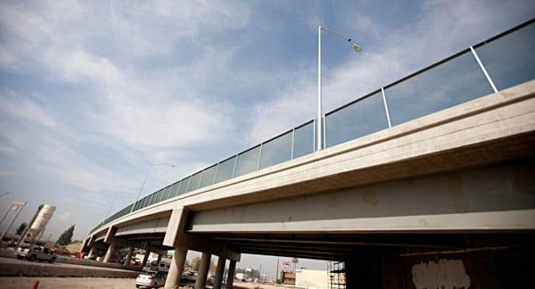 Baldwin Park Boulevard Bridge spans the I-10. Photo courtesy of Caltrans, District 7