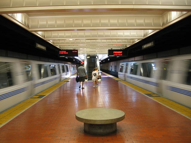 BART's board has voted to approve a contract to replace its aging rail fleet. Photo by flickr user skew-t.