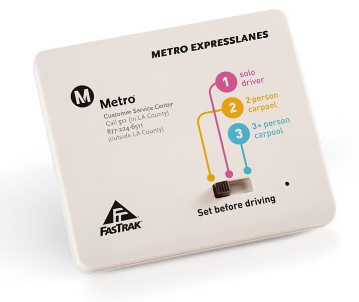 ExpressLanes / FasTrak® transponder