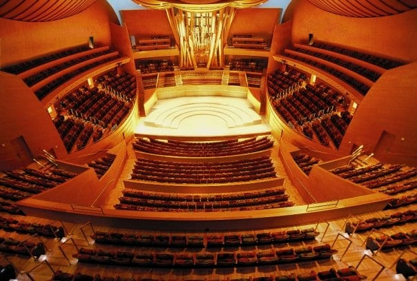 Catch the LA Phil at the Walt Disney Concert Hall during Discover the Arts, just a short walk from Metro's Civic Center Station. Photo from LA Phil Official Facebook