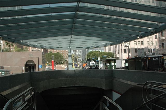 Perhing Square view from under canopy. Photo by Jose Ubaldo/Metro