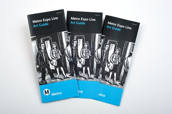Metro Expo Line Art Guide, which won Best in Show in the 2013 TMSA Compass Awards Program.