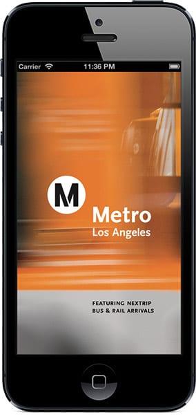 Go Metro start-up screen