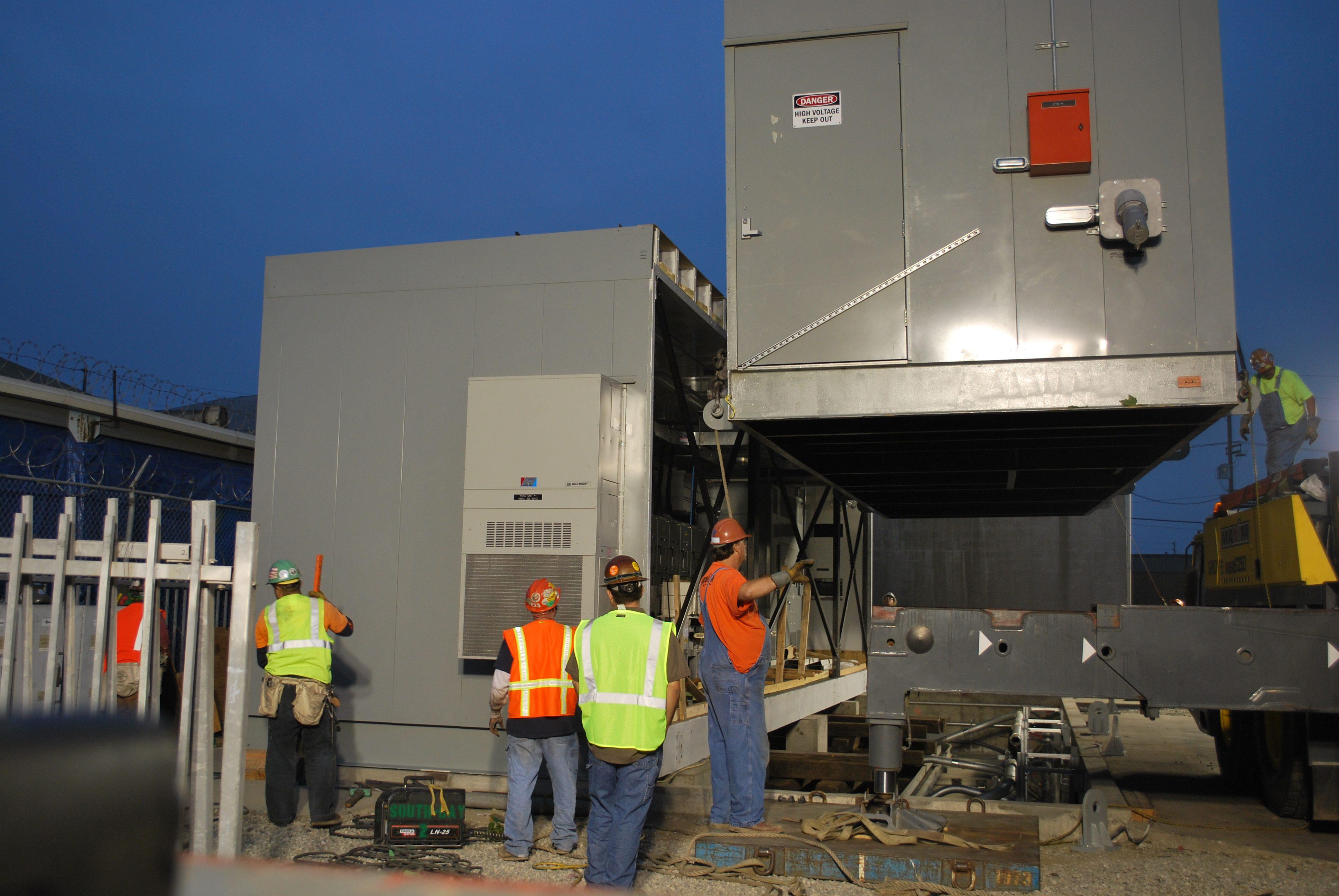 Installation of Washington TPSS