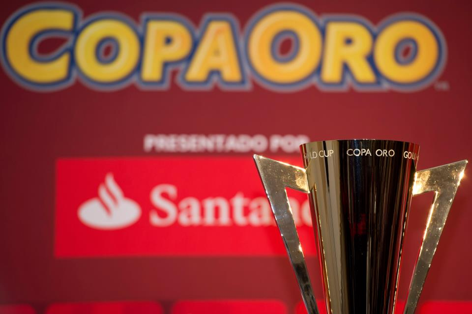 The Gold Cup! Photo from  Concacaf Official Facebook