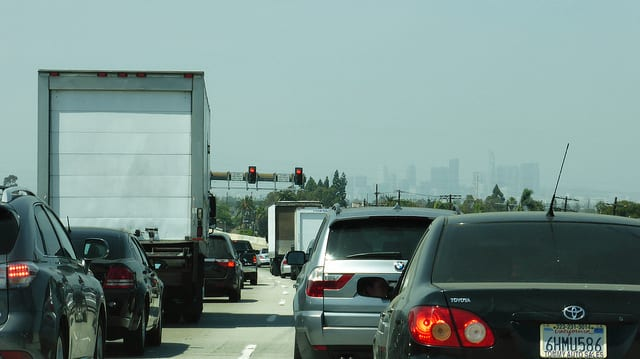 Los Angeles Traffic. Photo by Jeff Turner/Flickr