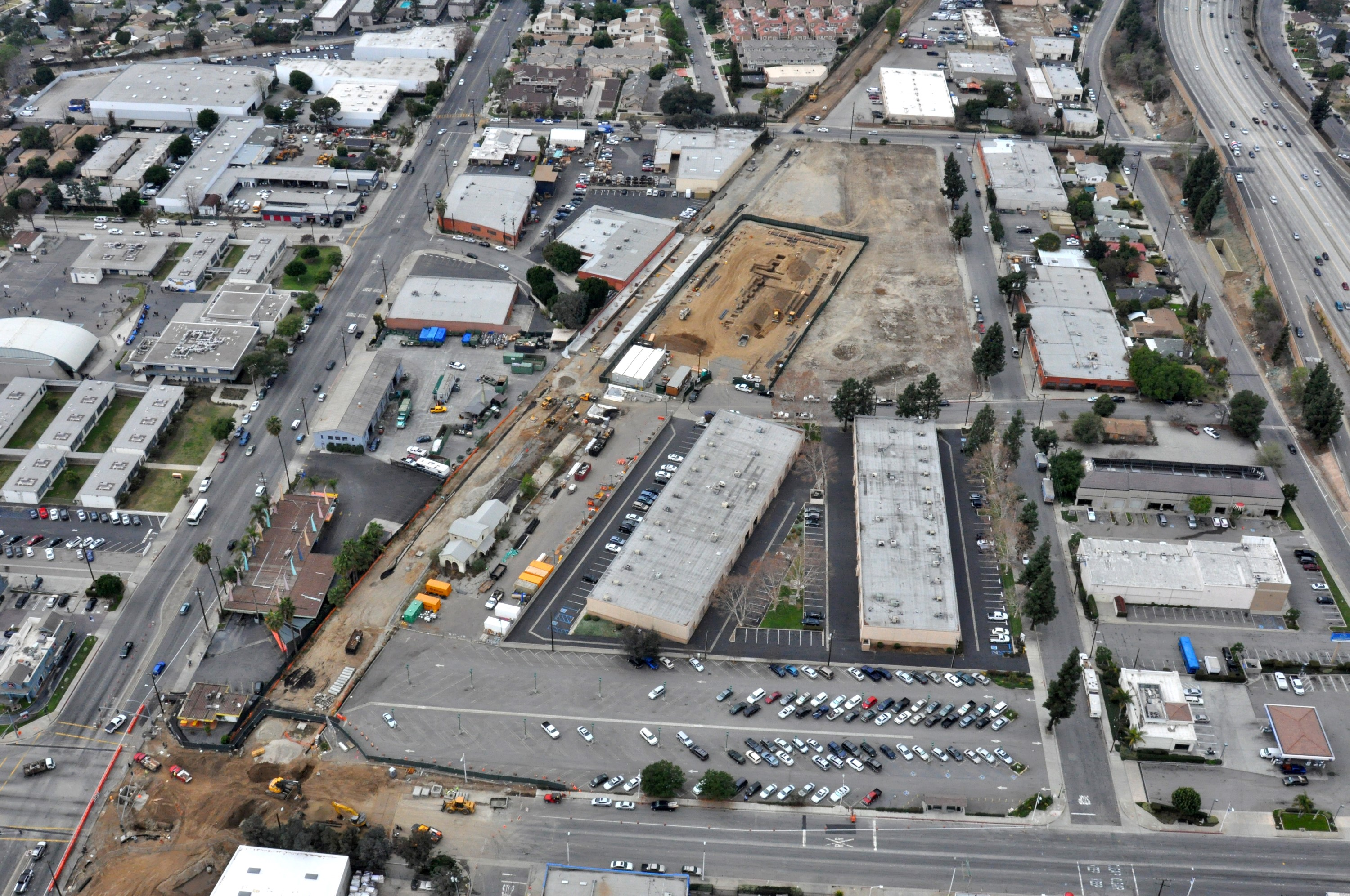 Monrovia_Station_and_Parking,_plus_Myrtle_Ave_closure