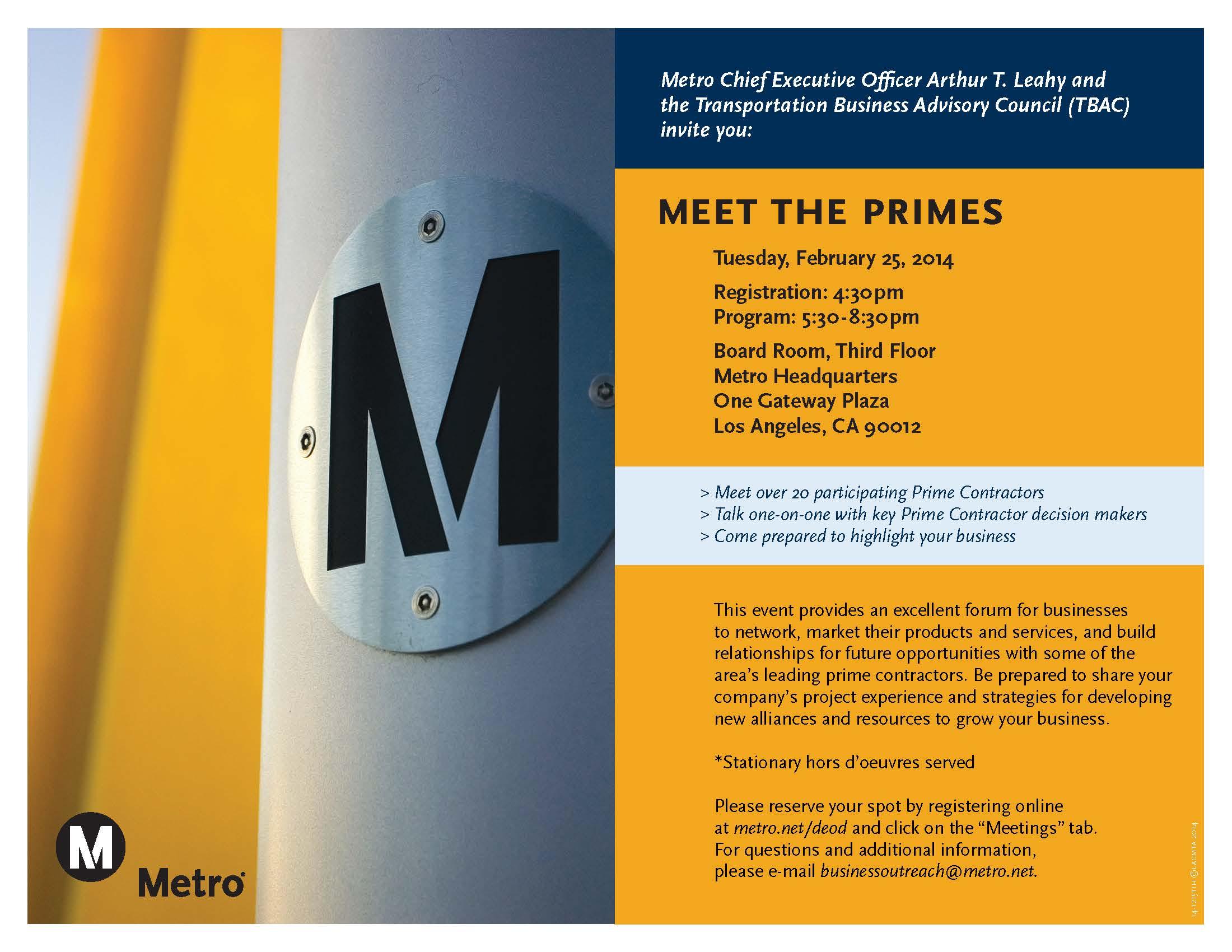 MTP Flyer 2014