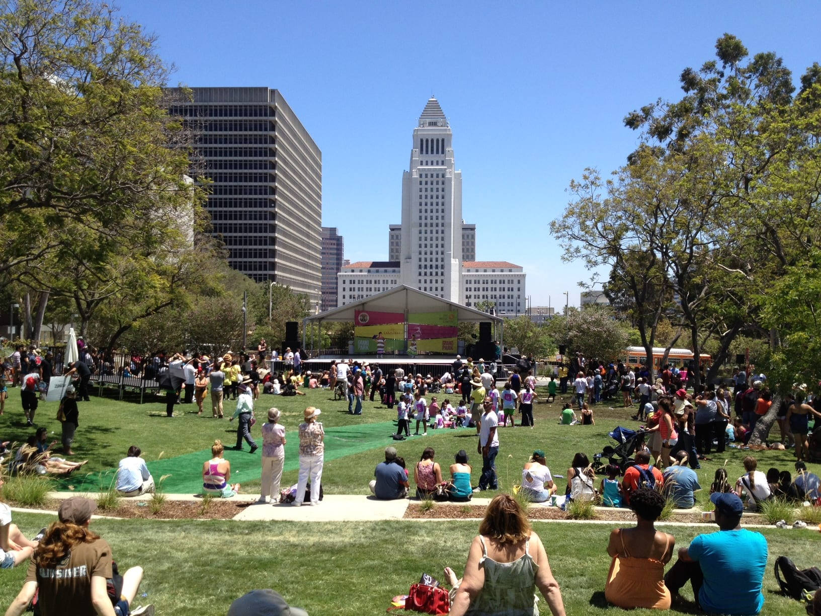 Attend the Downtown Book Fest in the lovely Grand Park this Saturday (image via Creative Commons).