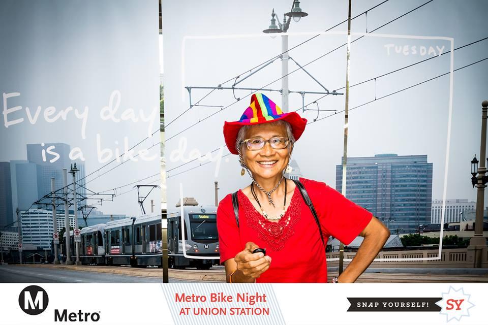 Swee, at Metro Bike Night's photo both having such a blast.