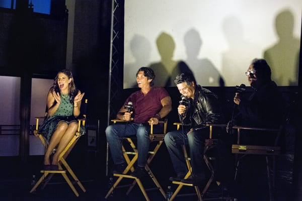 Most recently, we partnered with Film Independent and Dance Camera West to present a dance-a-long and screening of La Bamba as part of the annual LA Film Fest. Director Luis Valdez and actors Lou Diamond Phillips and Esai Morales participated in a Q&A session before the screening.