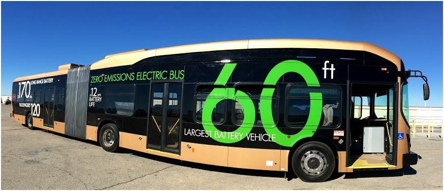 The electric bus prototype. Photo: Metro/BYD.