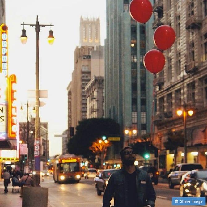 Broadway in downtown L.A. (Photo @fernrios @bbrendam via Instagram)