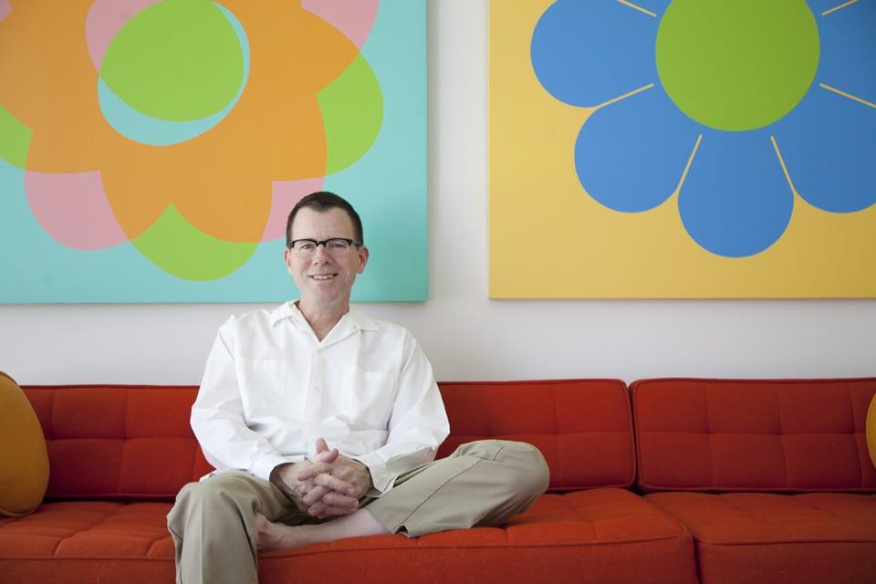 Jim Isermann at his studio