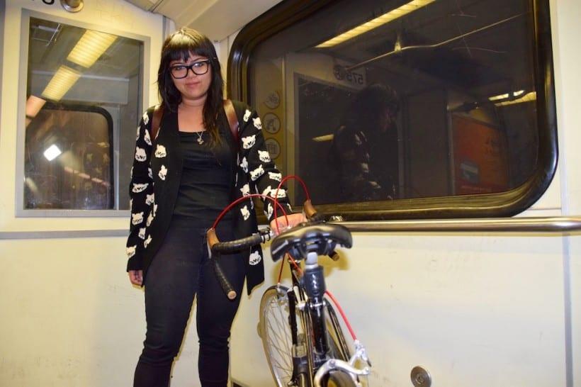 Metro rider Marigold Benzon