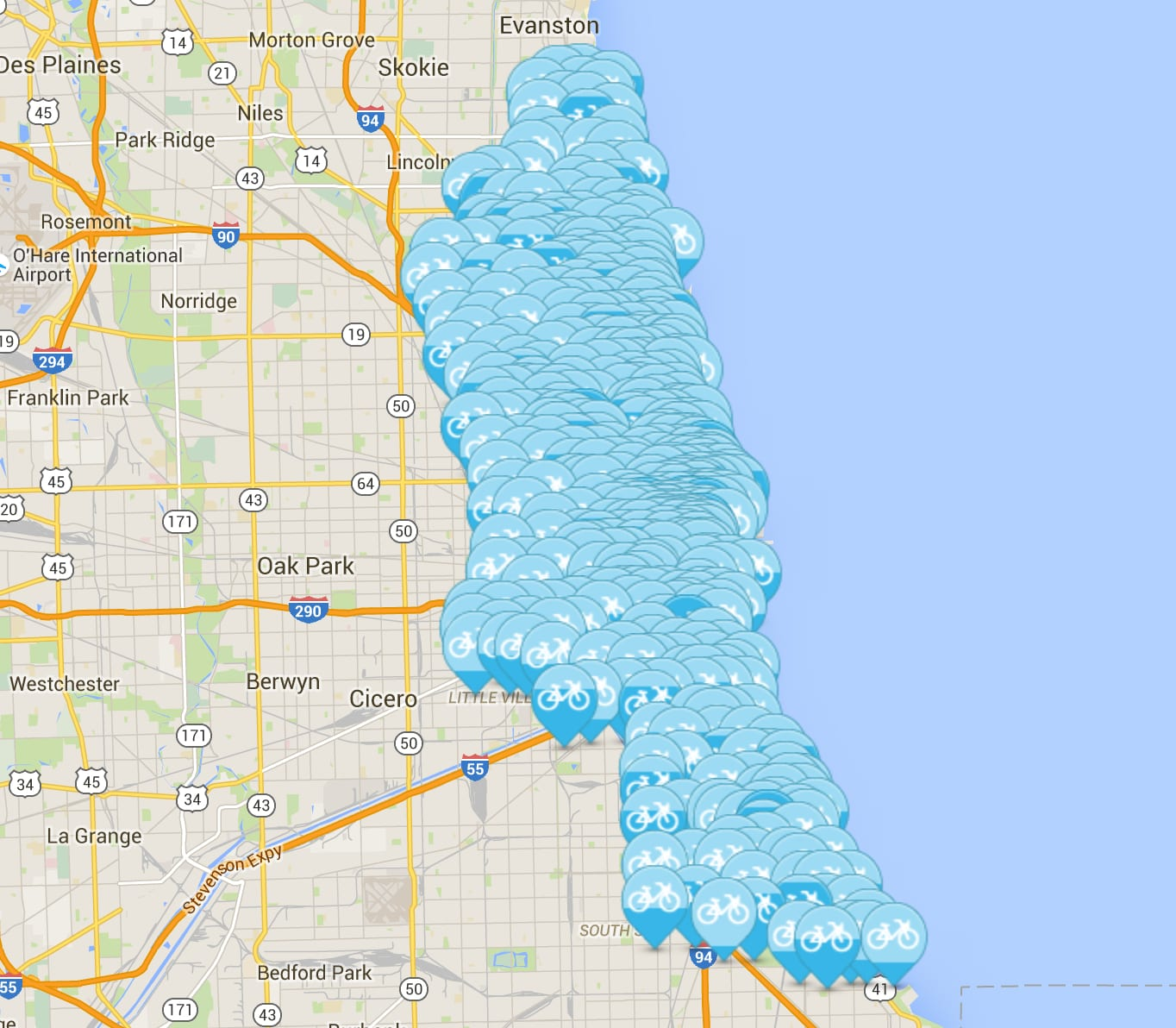 ChicagoBikeshare-Map