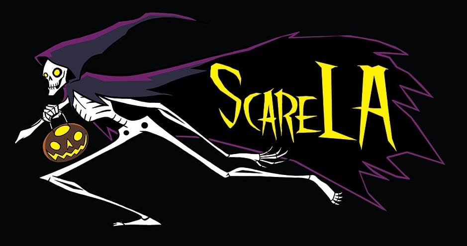Go Metro to celebrate Halloween earlyat ScareLA and save 10% on tickets and tshirts!