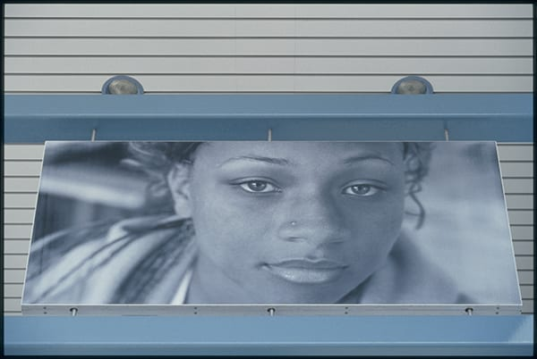 Tony Gleaton, Untitled - 2003 at the Sierra Madre Villa Station