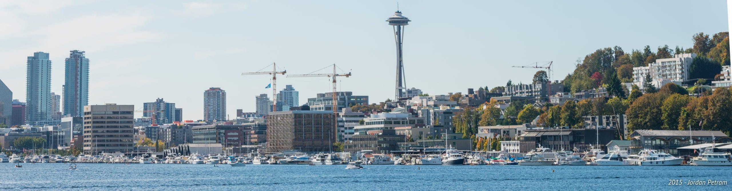 The Seattle skyline. Photo by Jordan Petram, via Flickr creative commons.