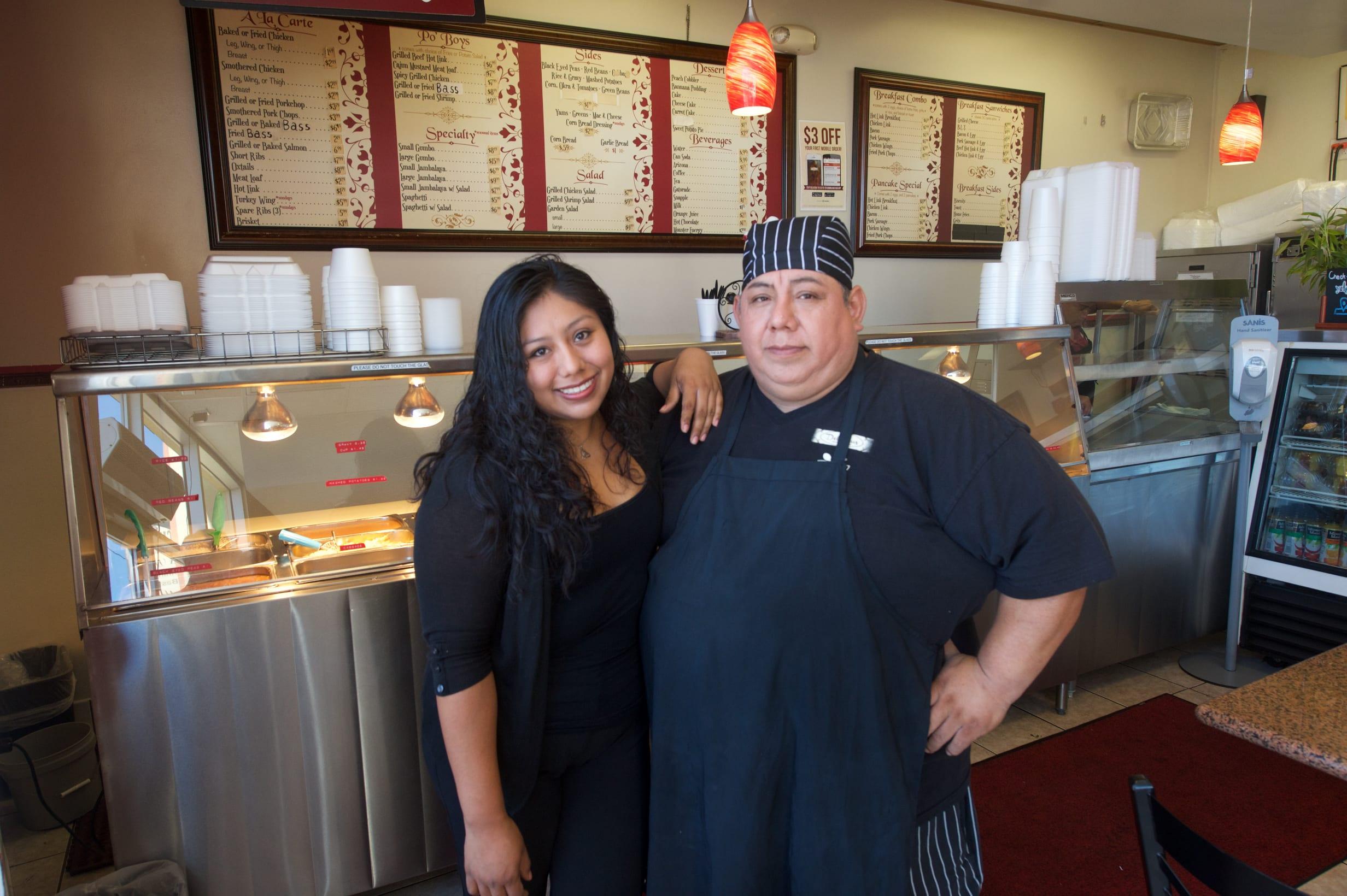 Adriana and Fidel Cortes. Photo by Gary Leonard/Metro