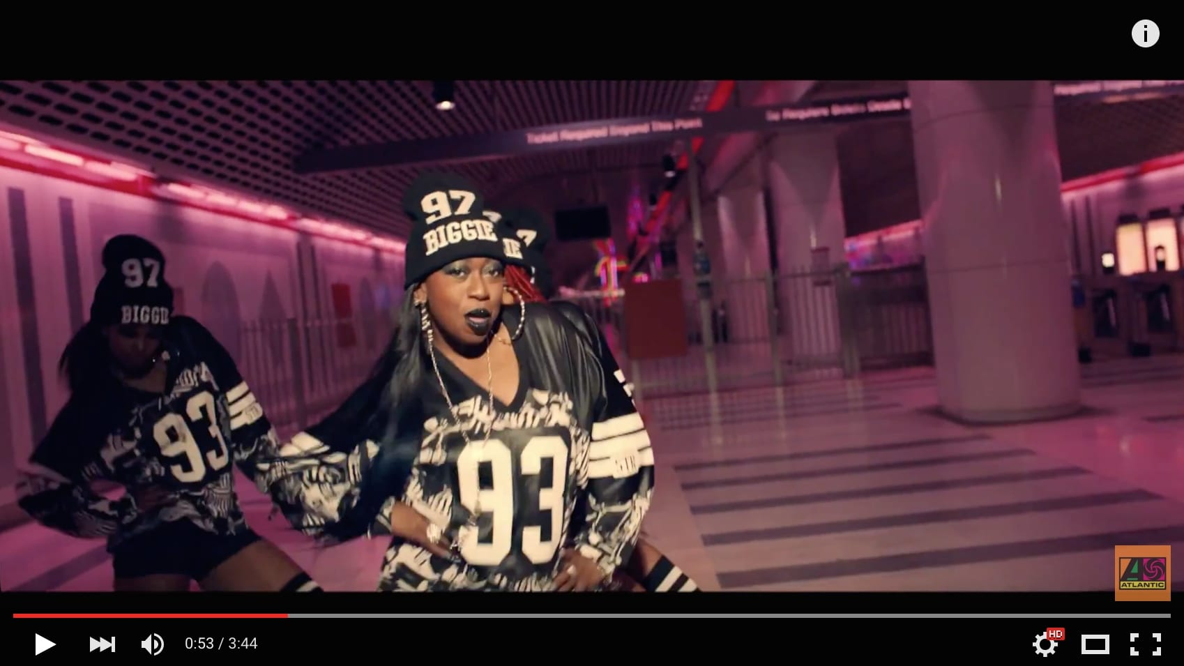 The subway gets a cameo in the new Missy Elliott video. Click above to watch. Mandatory warning: some adultish language of the hip-hop variety.