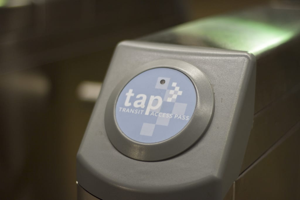 A typical TAP validator. Pretty high tech, eh?