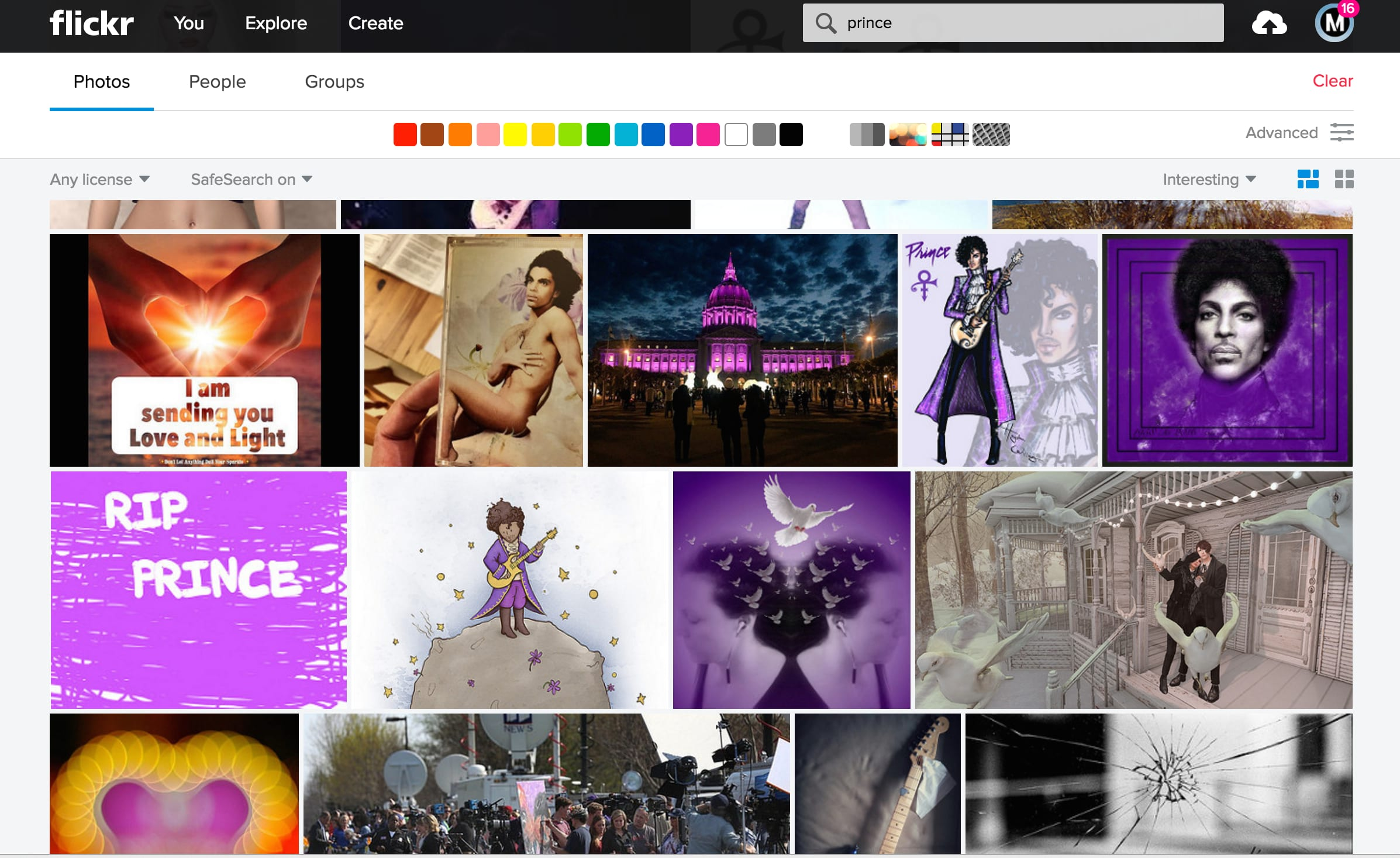 FlickrTribute