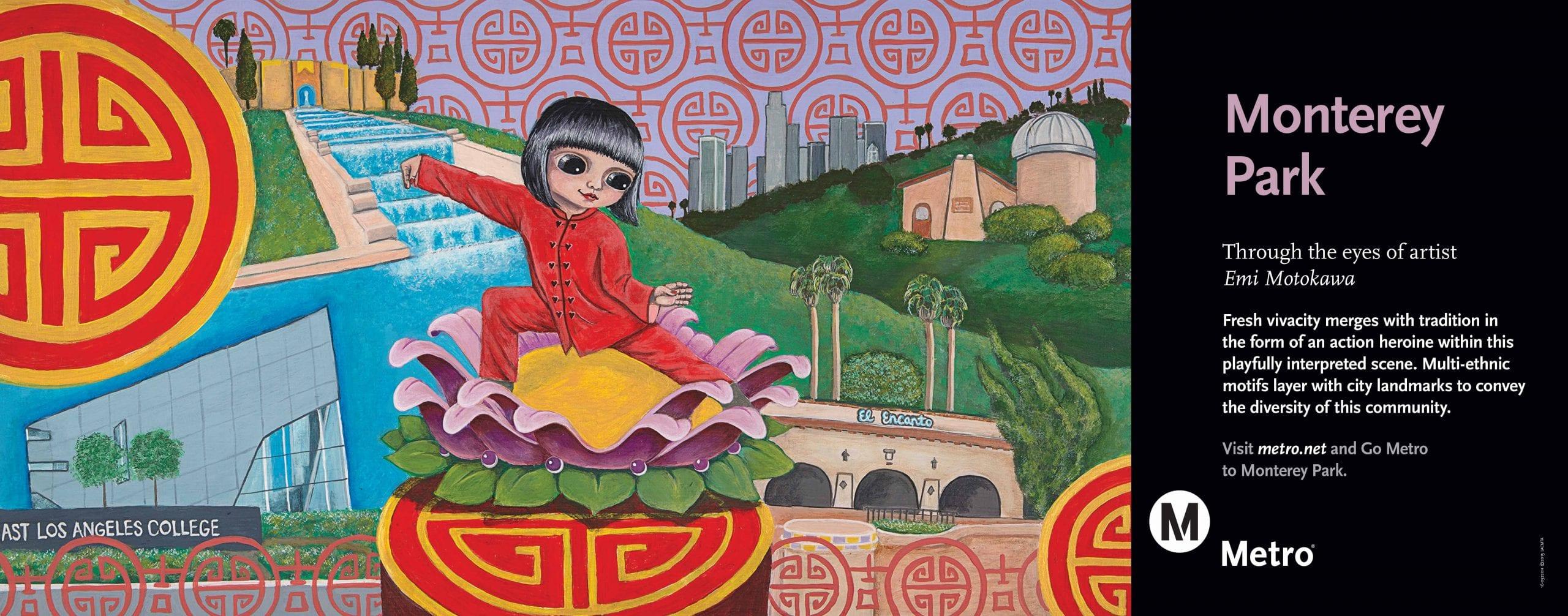 Monterey Park through the eyes of artist Emi Motokawa