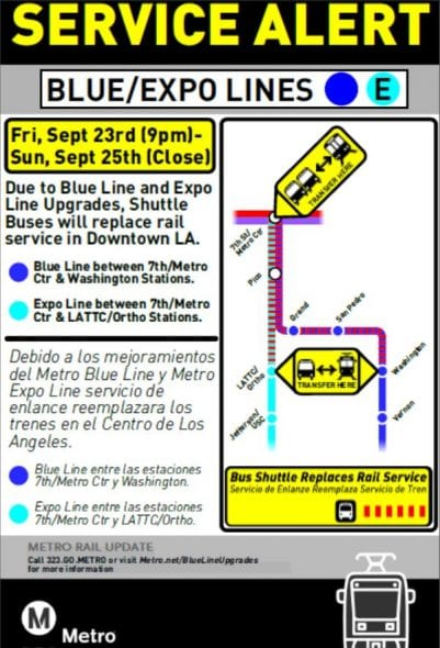 DTLA Junction Closure
