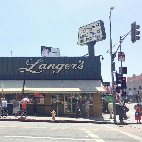 Langer's via isaidiine instagram