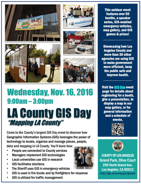 gis day flyer