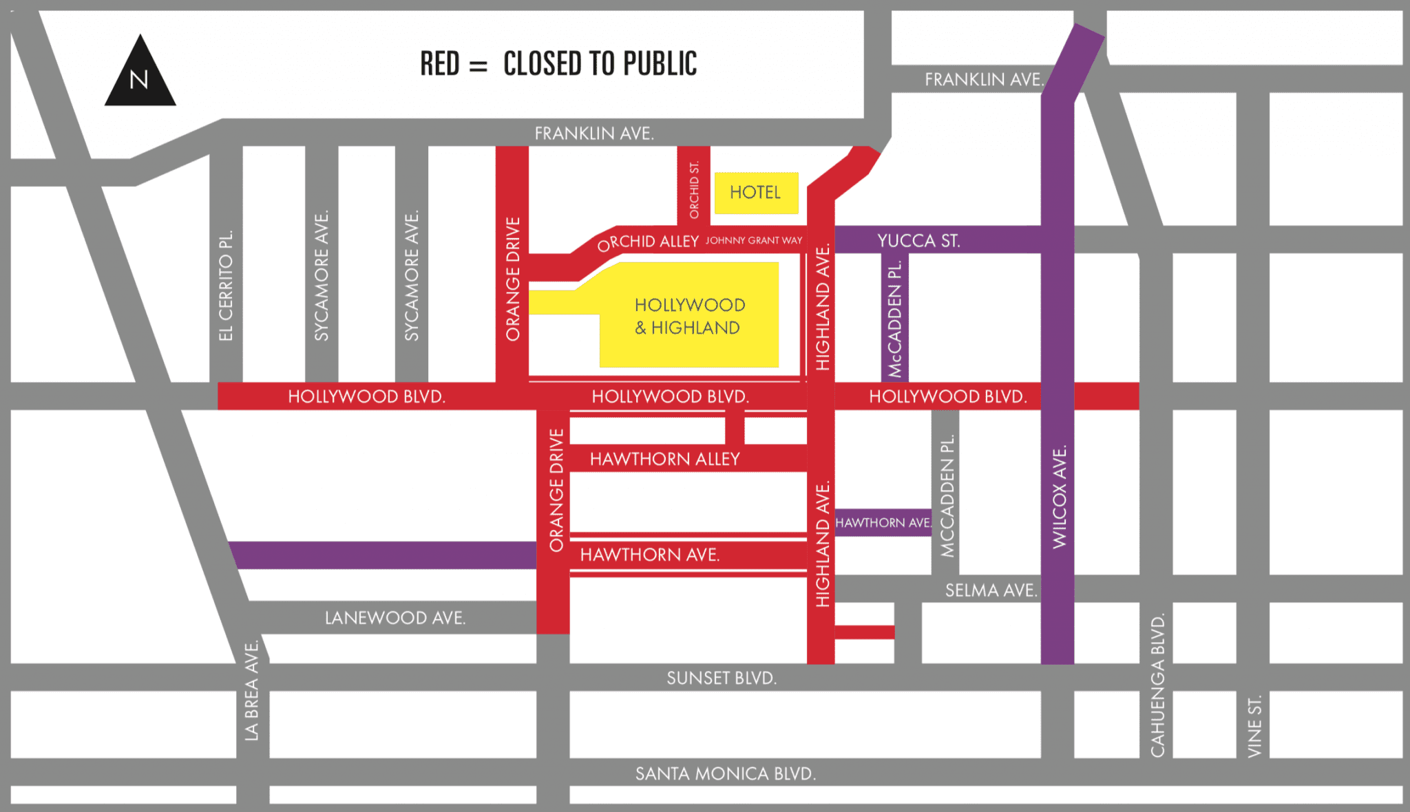 Here S The Info On Bus Detours And Hollywood Highland