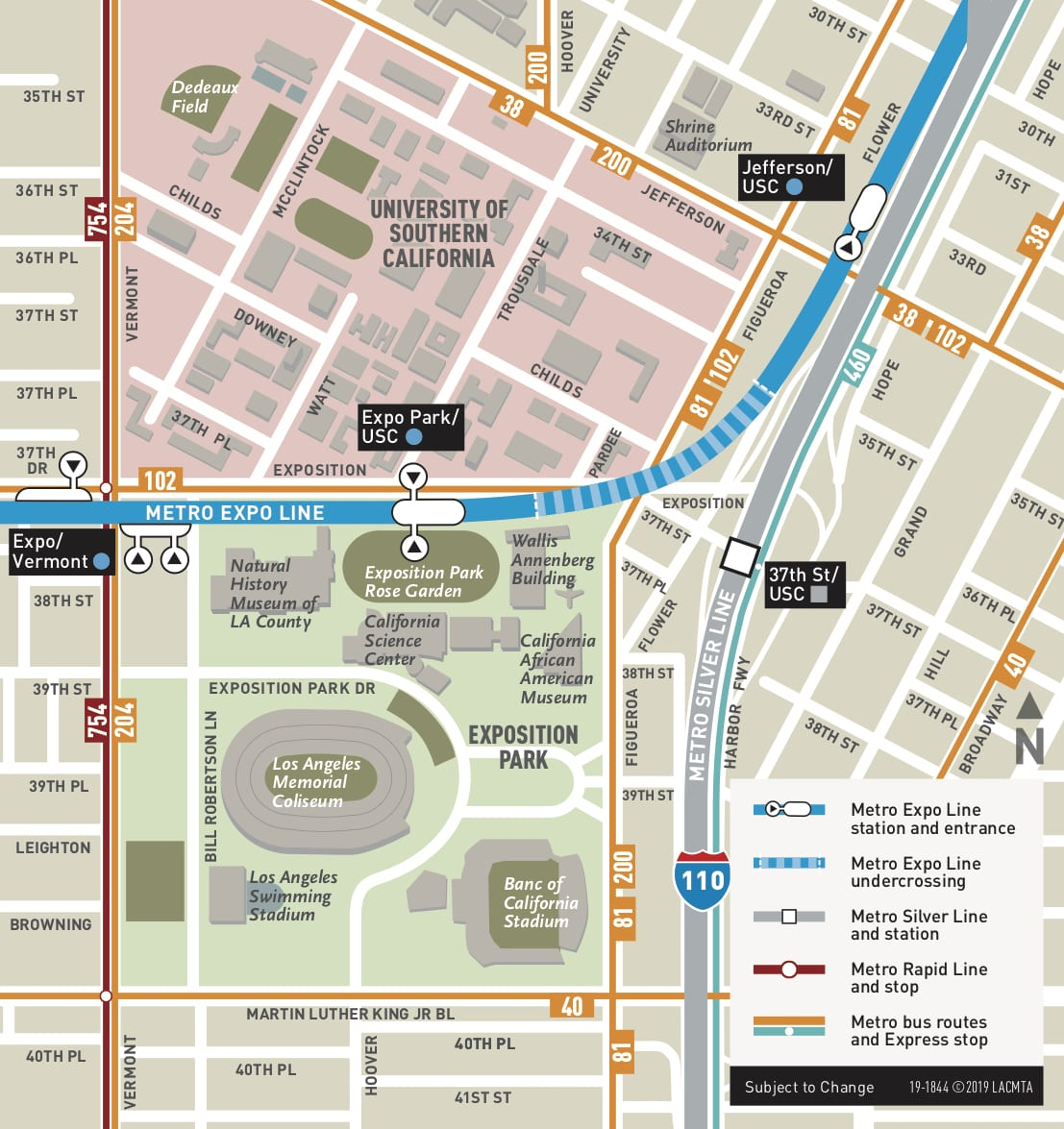 Ams Subway Map.Go Metro And Metrolink To Watch Rams Hogtie Cowboys On Saturday